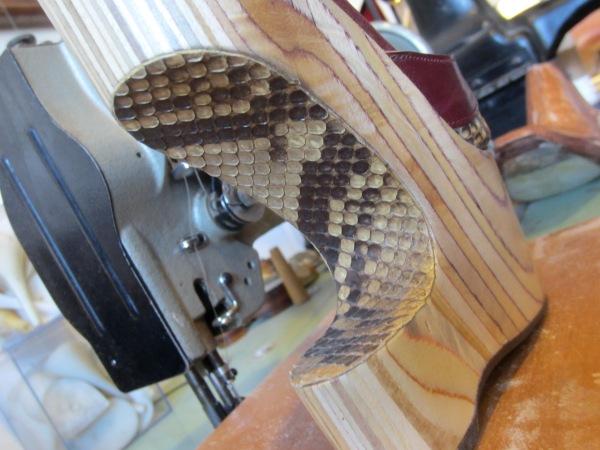 Love this snakeskin detail