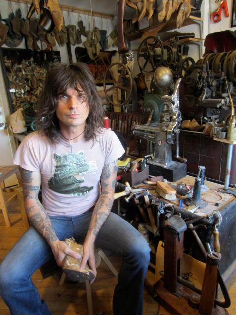 Chris Francis in his downtown LA studio