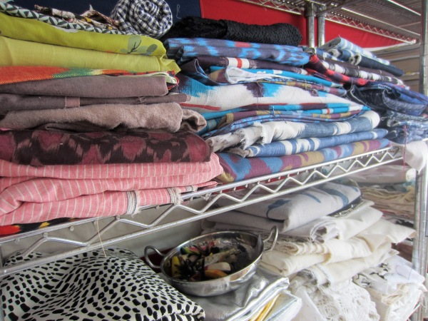Textile samples for inspiration