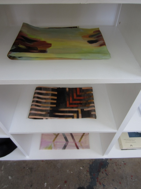 Textile samples created for interior fabrications