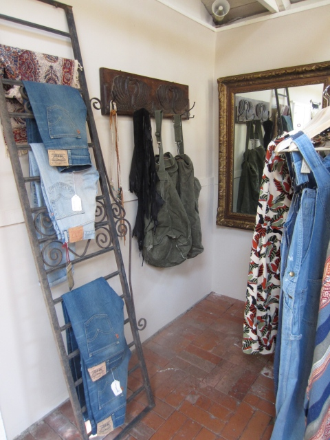 Vintage Levi's Clothing and army surplus bags